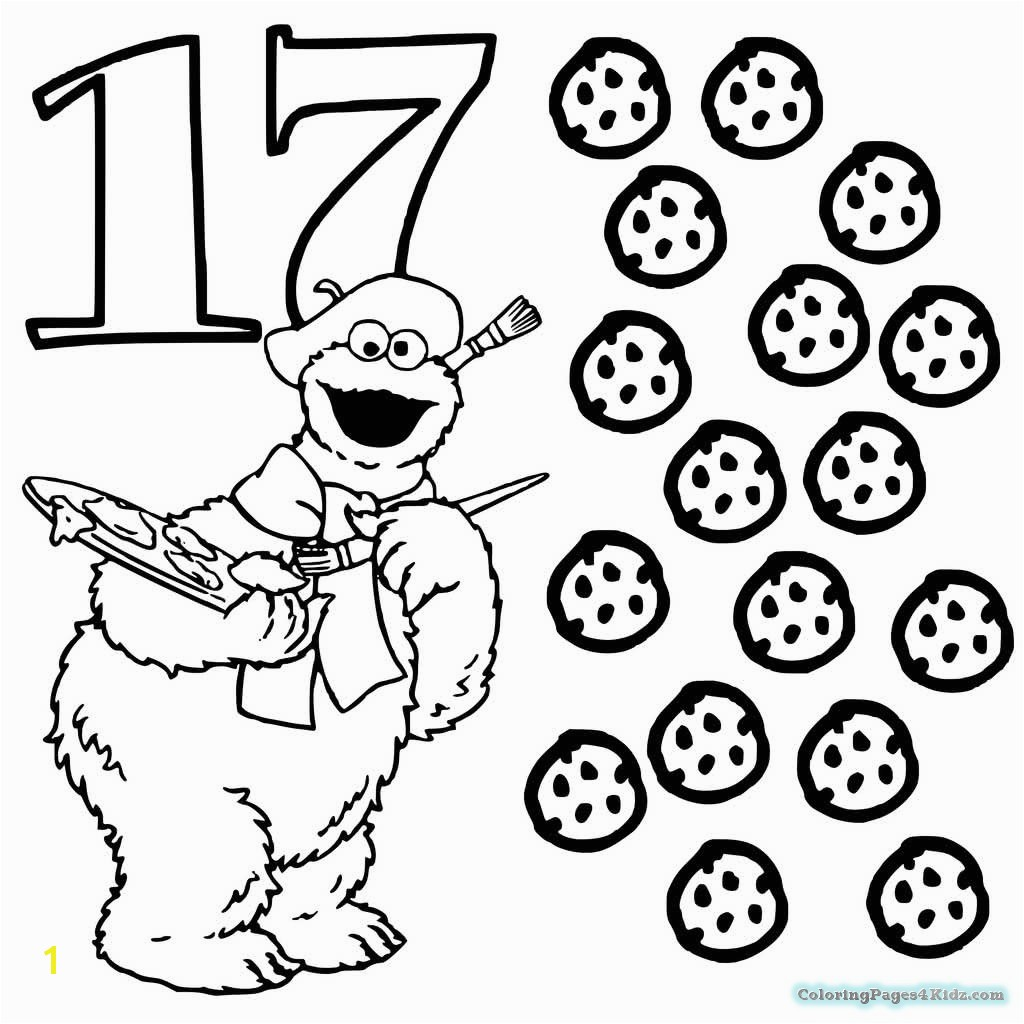 17 Coloring Page Number 17 Coloring Page