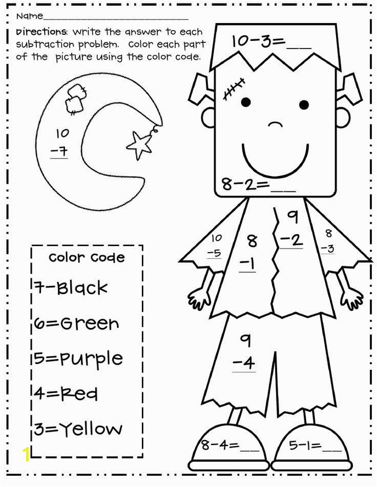 Free Halloween Worksheets for First Grade Lovely Collection 1st Grade Math Worksheets Halloween