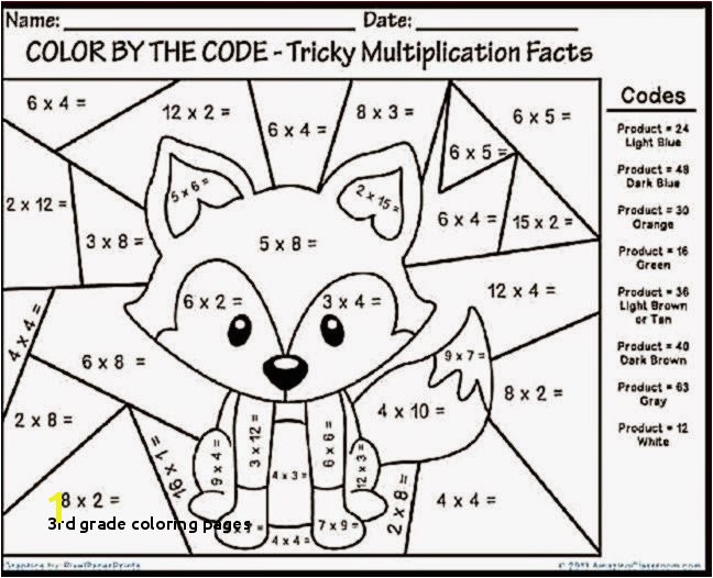 29 3rd Grade Coloring Pages