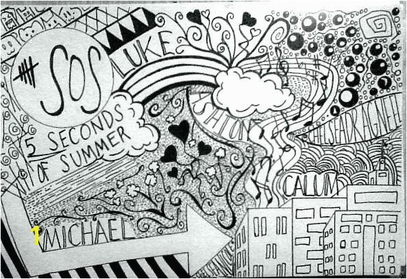 5 Seconds Of Summer Coloring Pages 5 Seconds Summer Coloring Pages 5 Seconds Summer Coloring Pages 5