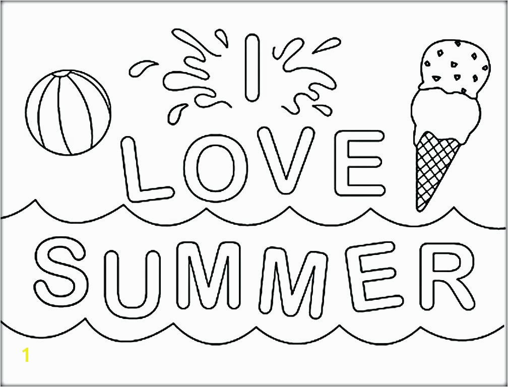 5 Seconds Summer Coloring Pages Summer Coloring Page I Love Summer Coloring 5 Seconds