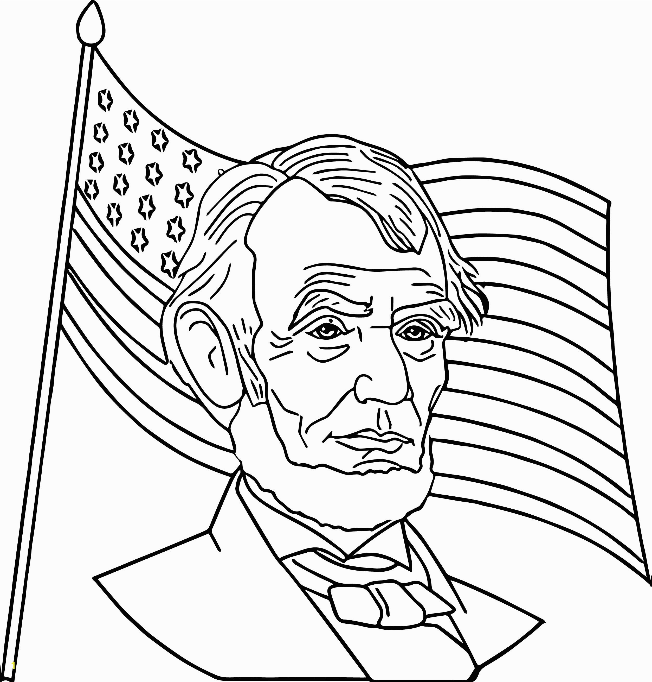 abe lincoln coloring sheet abraham lincoln coloring page mustespresso