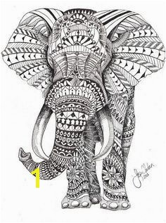 Free Animal Adult Coloring Pages Elephant freeadultcoloringpages freeprintableadultcoloringpages
