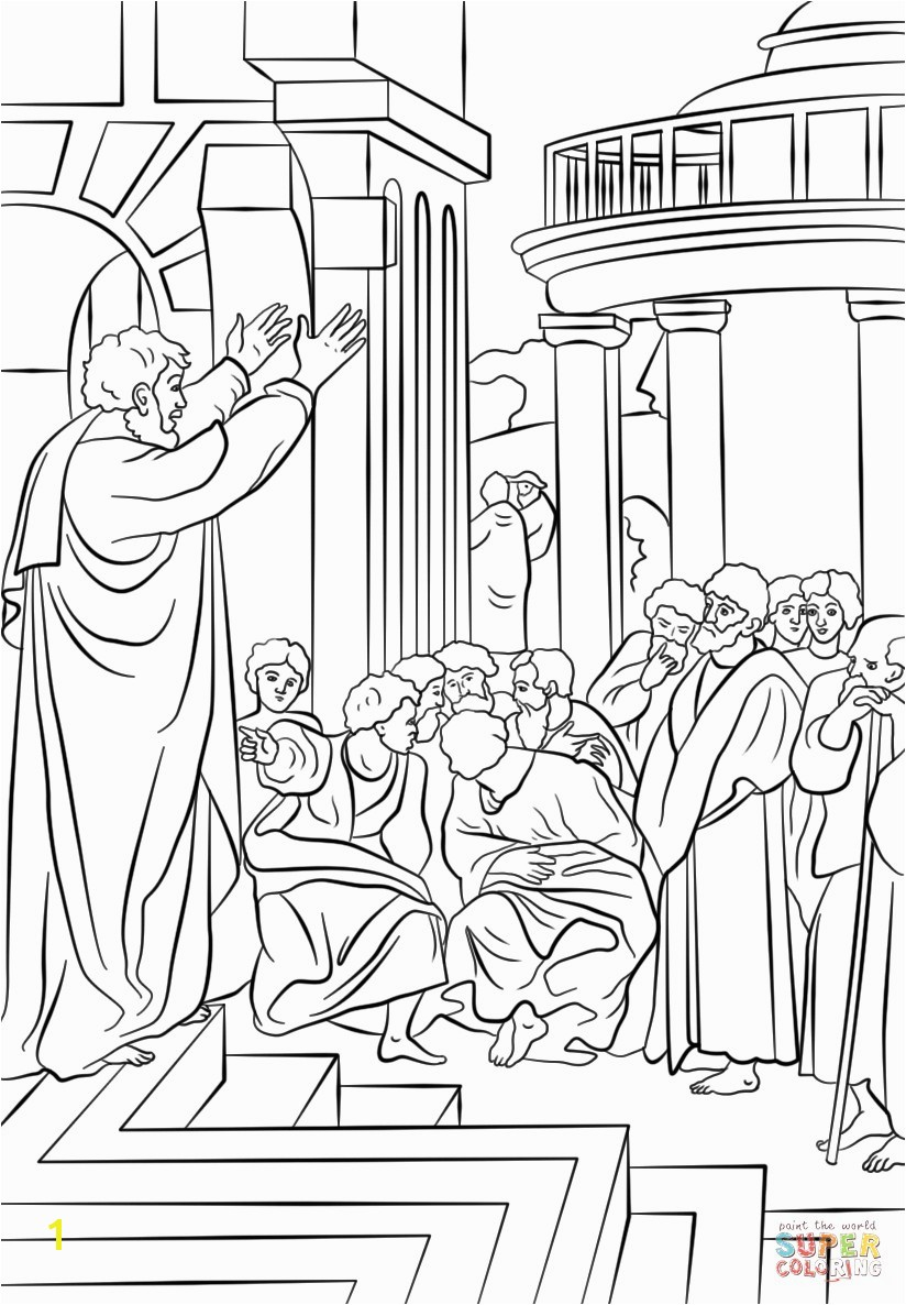 Acts Of the Apostles Coloring Pages Apostles Coloring Pages