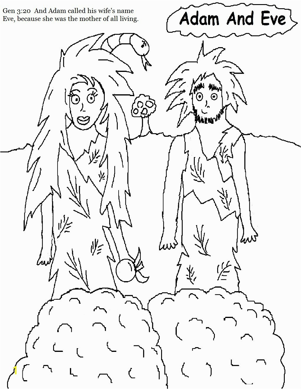 Adam And Eve Color Sheets Lovely Free Adam And Eve Coloring Pages Inspirational Bible Coloring Pages