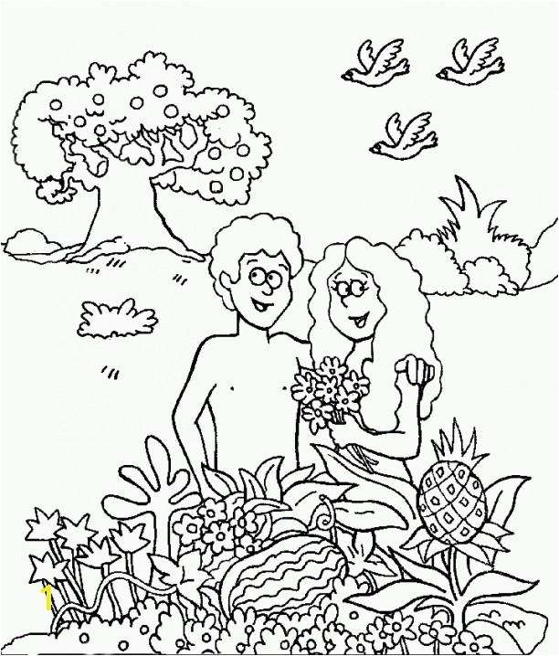 Adam And Eve Color Sheets Awesome Adam Eve Color Pages Adam And Eve Coloring Page Coloring