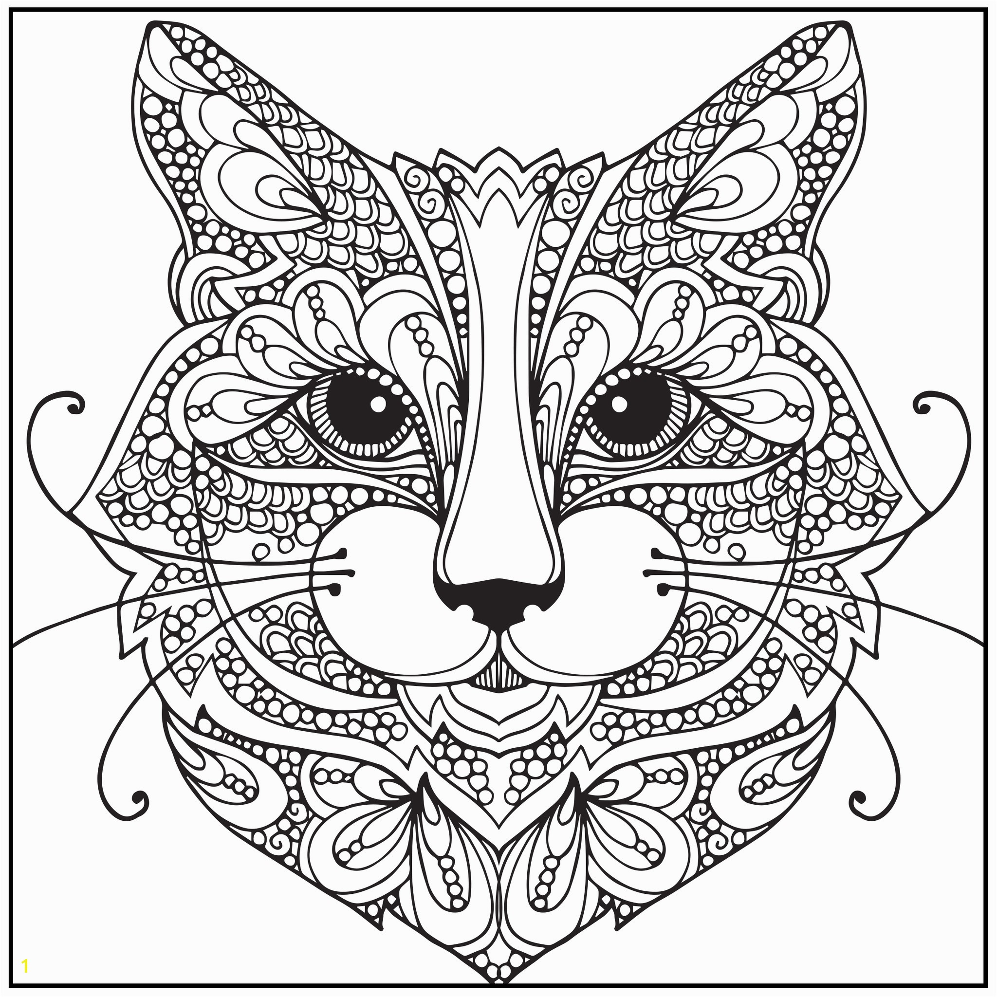 28 Collection Detailed Cat Coloring Pages High Quality Free