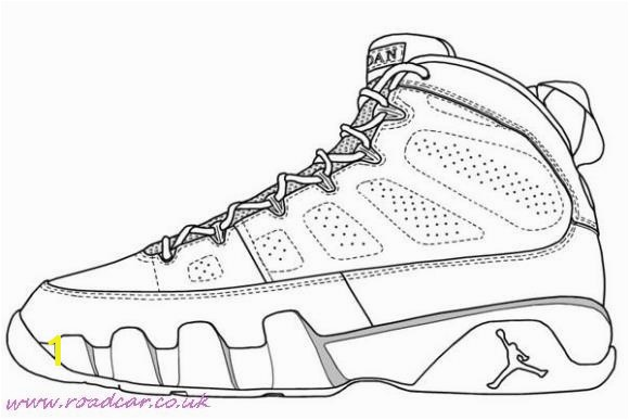 nike shoes coloring sheets