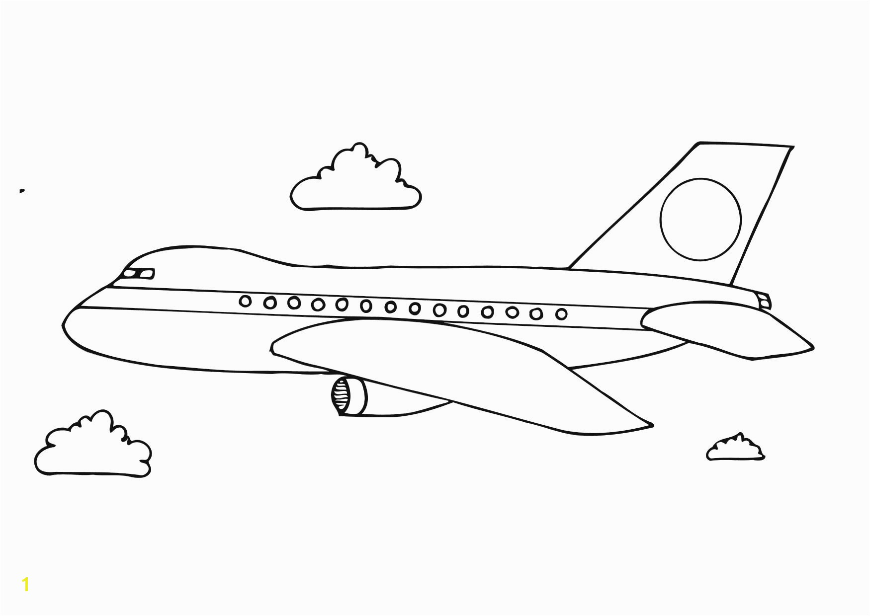 s of Airplane Coloring Pages