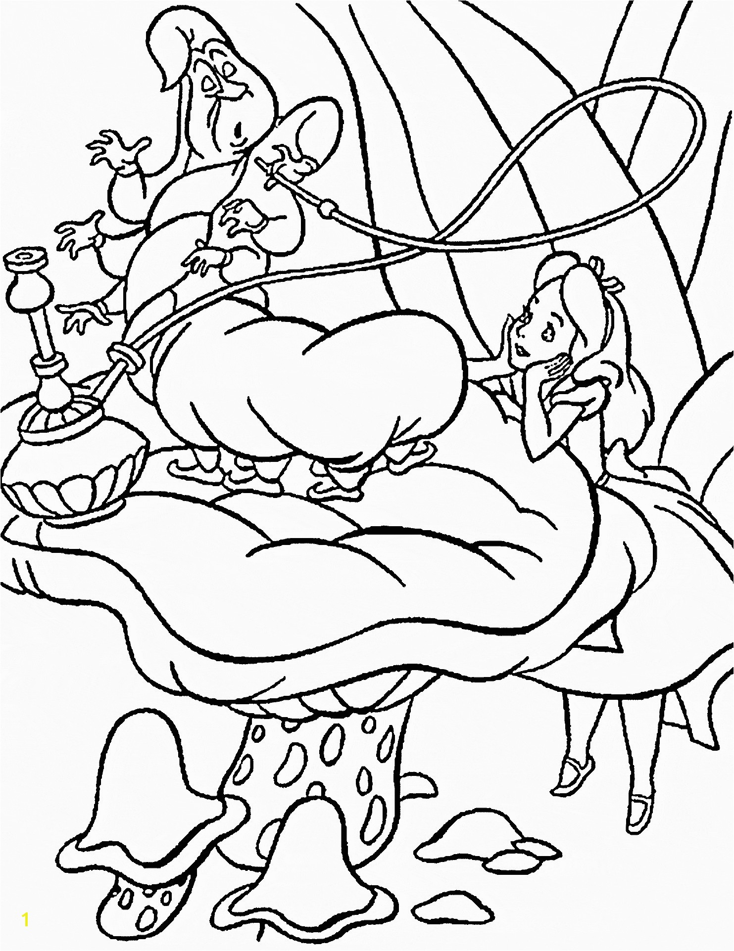 Alice In Wonder Land Coloring Pages Inspirational Alice In Wonderland Coloring Books Valid Alice In Wonderland