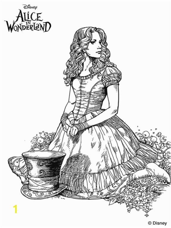 Alice In Wonderland Coloring Pages Tim Burton Alice In Wonder Land Coloring Pages Inspirational Tim Burton Mad