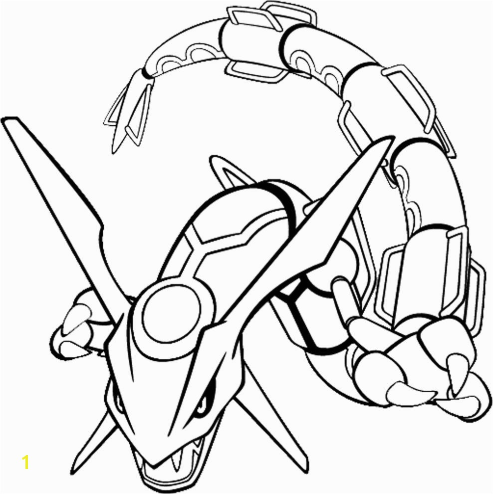 All Legendary Pokemon Coloring Pages Pokemon Coloring Pages for Kids Pokemon Rayquaza Colouring Pages