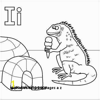 29 Alphabet Coloring Pages A Z