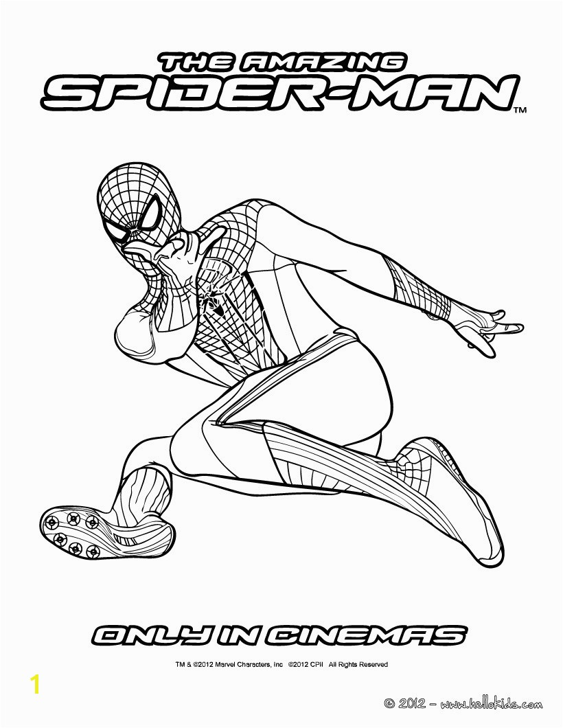 Unlimited Amazing Spiderman 2 Coloring Pages Sure Fire Promising Spider