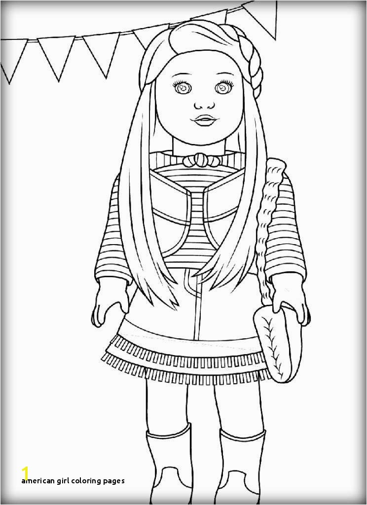 American Girl Doll Coloring Pages to Print Free Unique Coloring