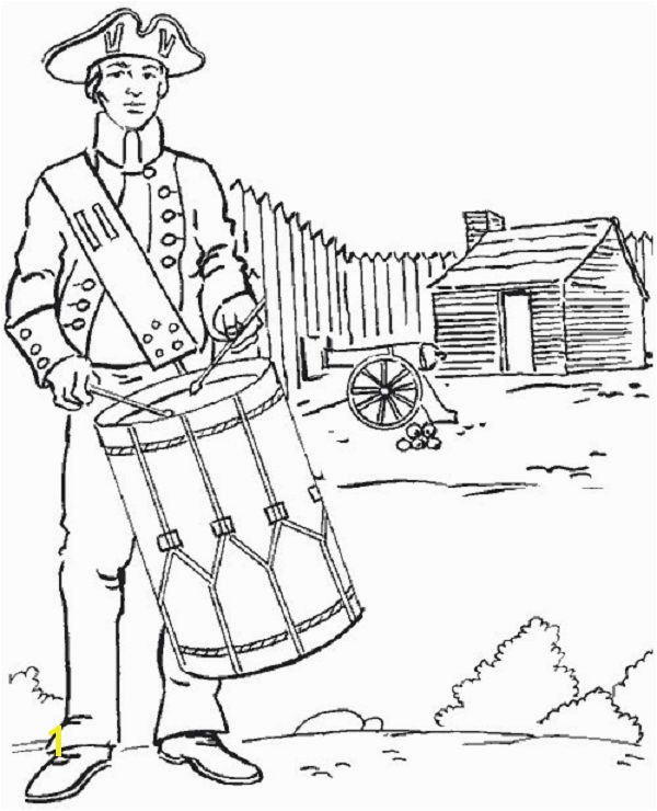 Download American Revolution Coloring Pages