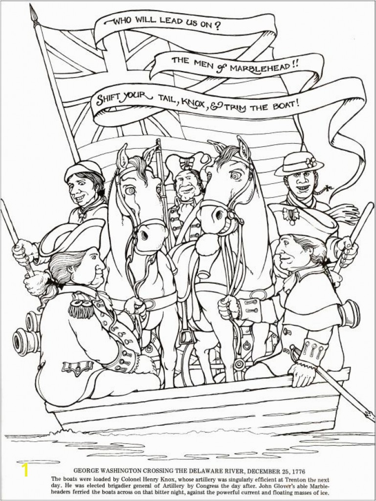 Revolutionary War Coloring Pages In American Revolution
