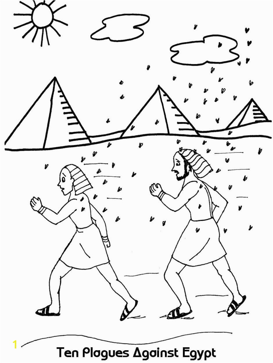 Ancient israel Coloring Pages New Ten Plagues Against Egypt Exodus 7 12 17 Lovely Ancient