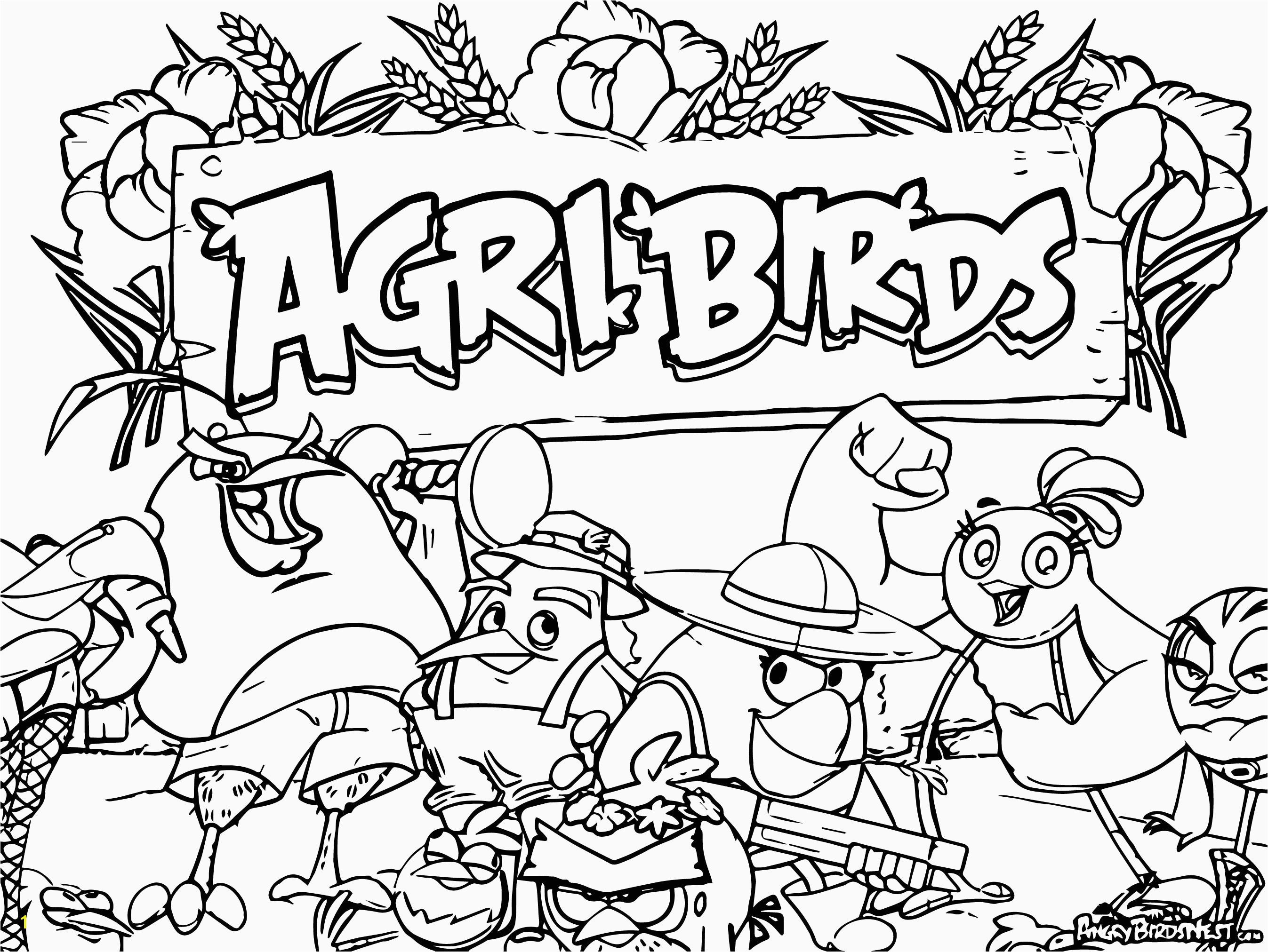 Disney World Coloring Pages Unique New Angry Birds Game Ing Summer Coloring Page