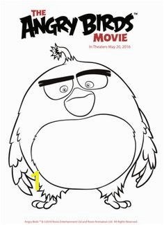 Free Angry Birds Coloring Pages Printables