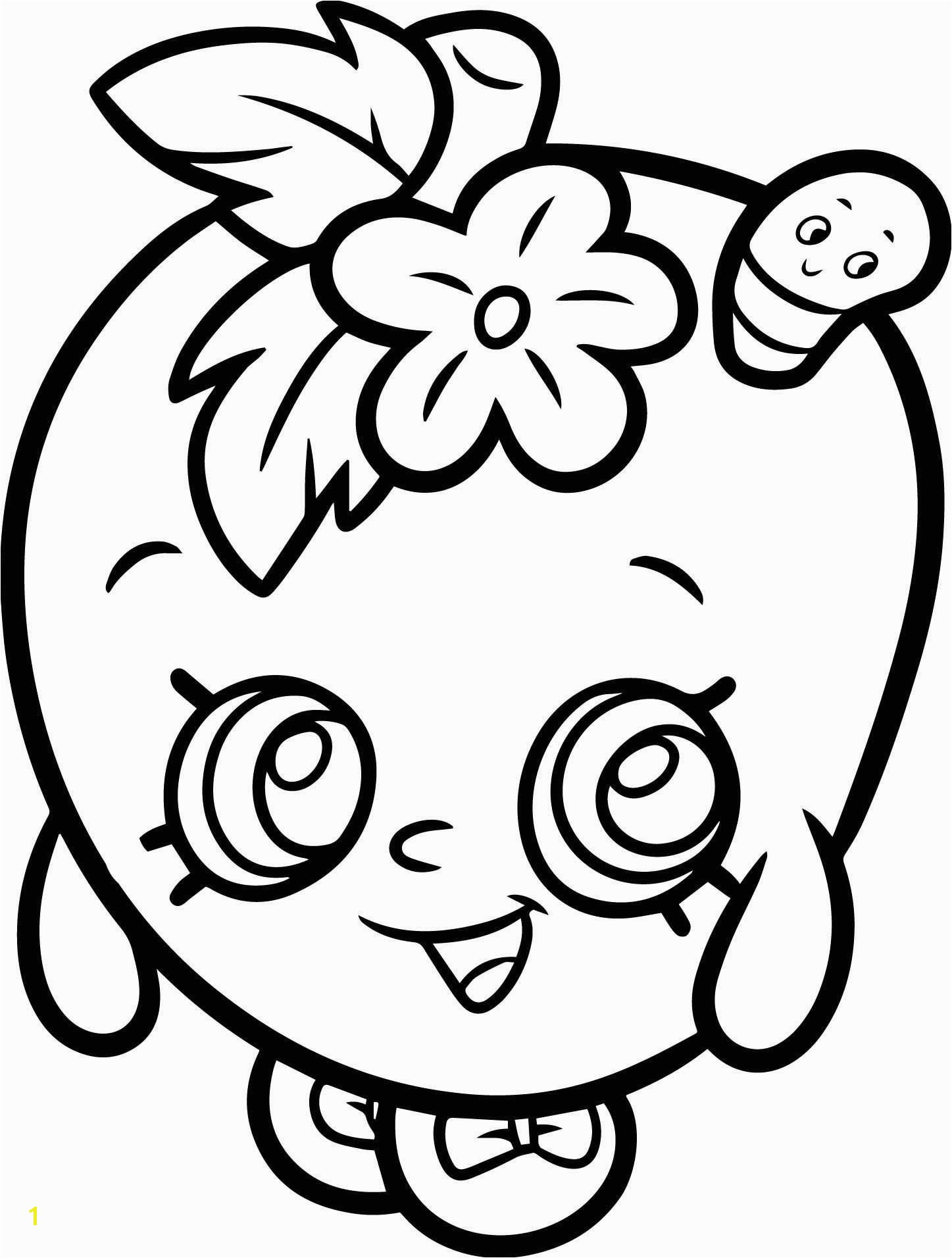 Apple Blossom Coloring Page Apple Blossom Shopkin Coloring Page & Plete Guide Example