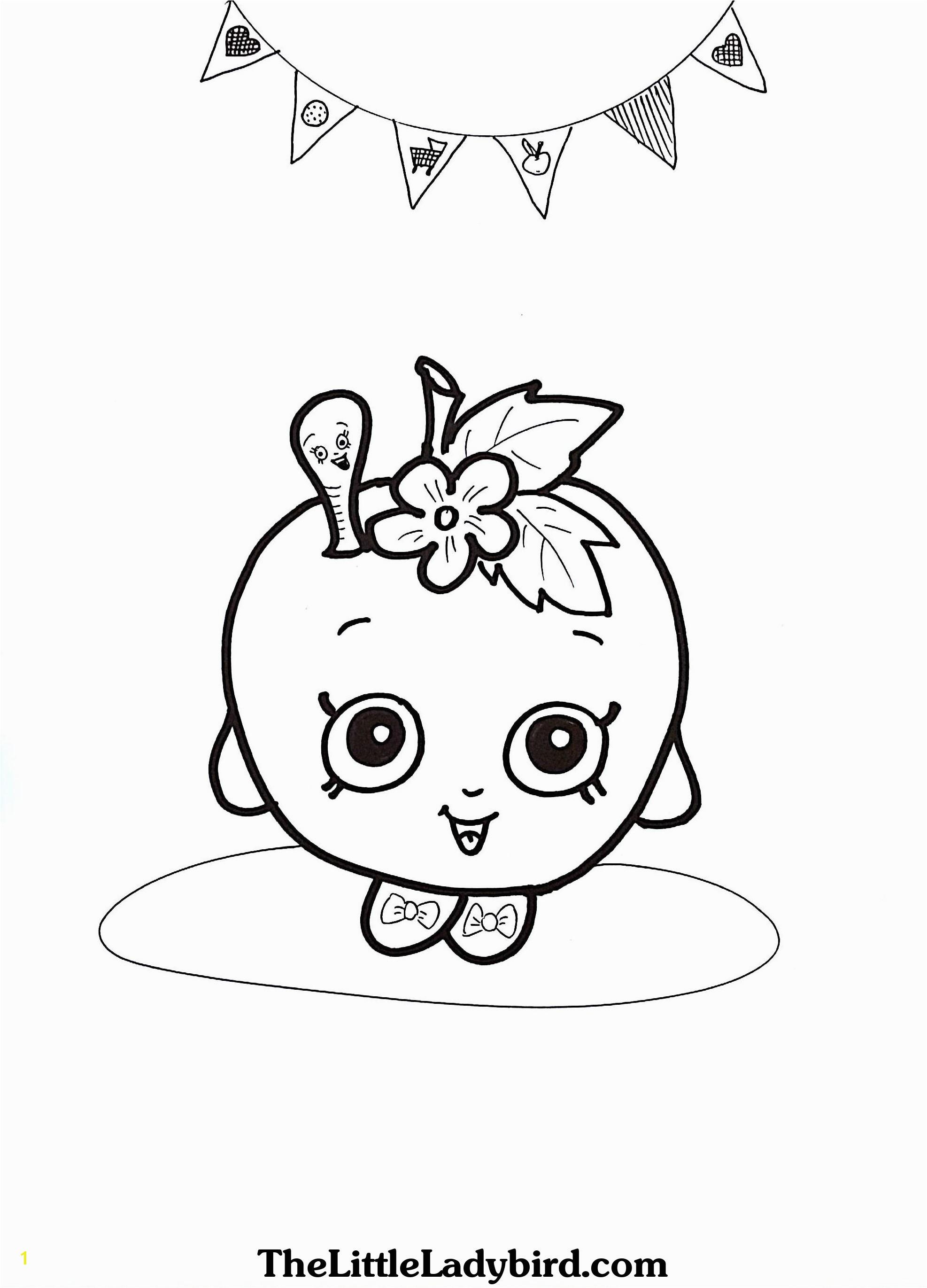 Apple Blossom Shopkin Coloring Page Best Coloring Pages Apple Blossoms Katesgrove