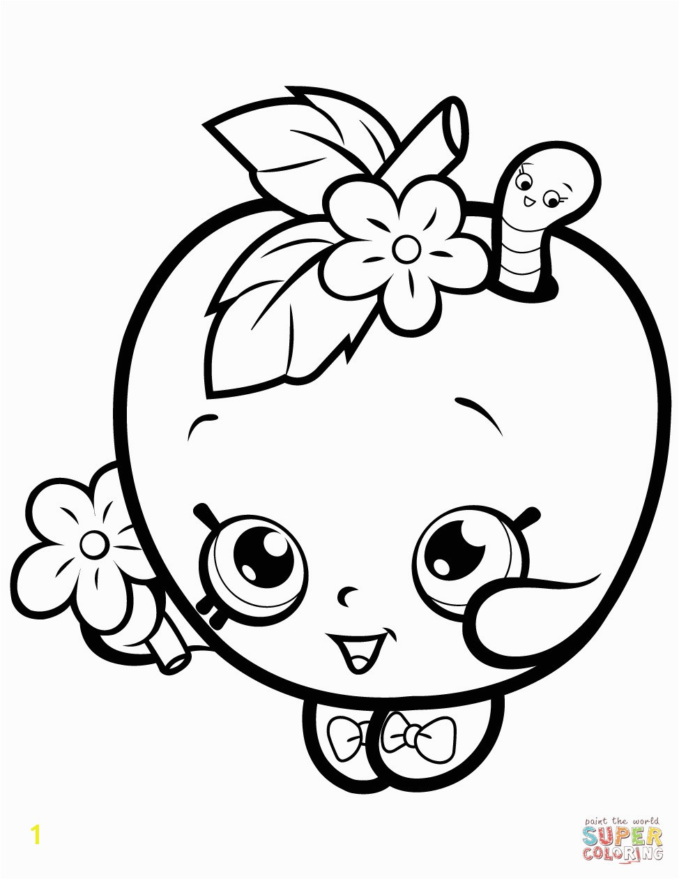 Apple Blossom Shopkin Coloring Page Shopkins Printable Coloring Pages Elegant New Eazy E Coloring Pages