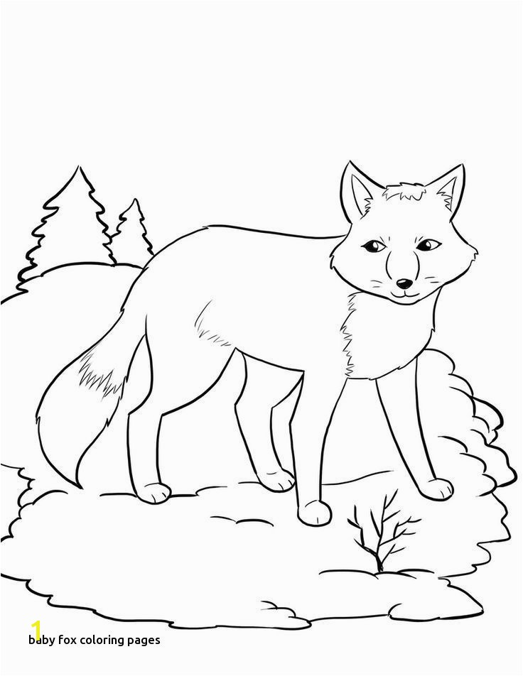 Arctic Fox Coloring Page Luxury 20 Unique Arctic Fox Coloring Page 20 Unique Arctic Fox