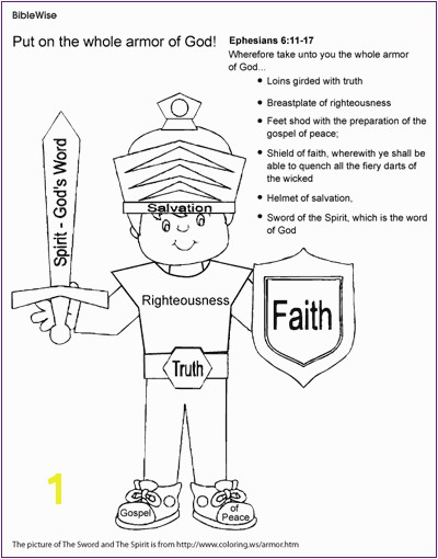 Armor God Coloring Pages Luxury Unusual Armour God Coloring Page Full Armor 6891