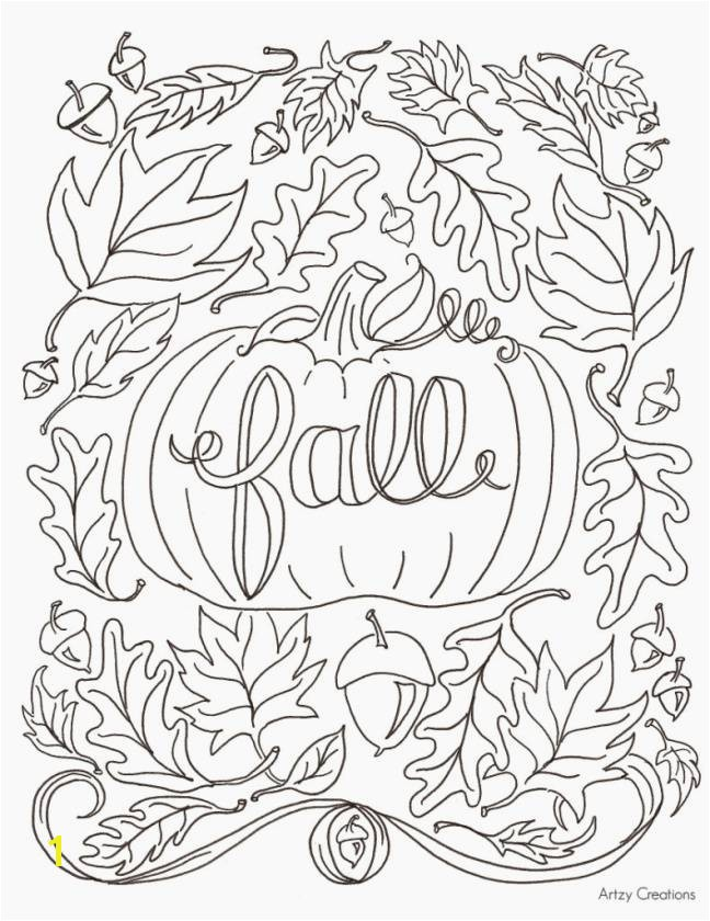 Automn Coloring Pages Luxury Fall Coloring Pages for Kids Best Coloring Printables 0d