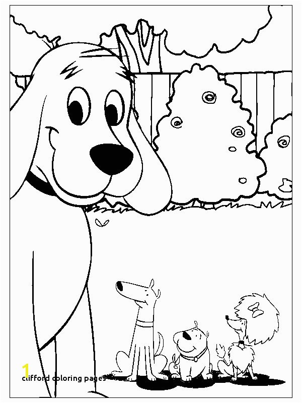 30 Clifford Coloring Pages