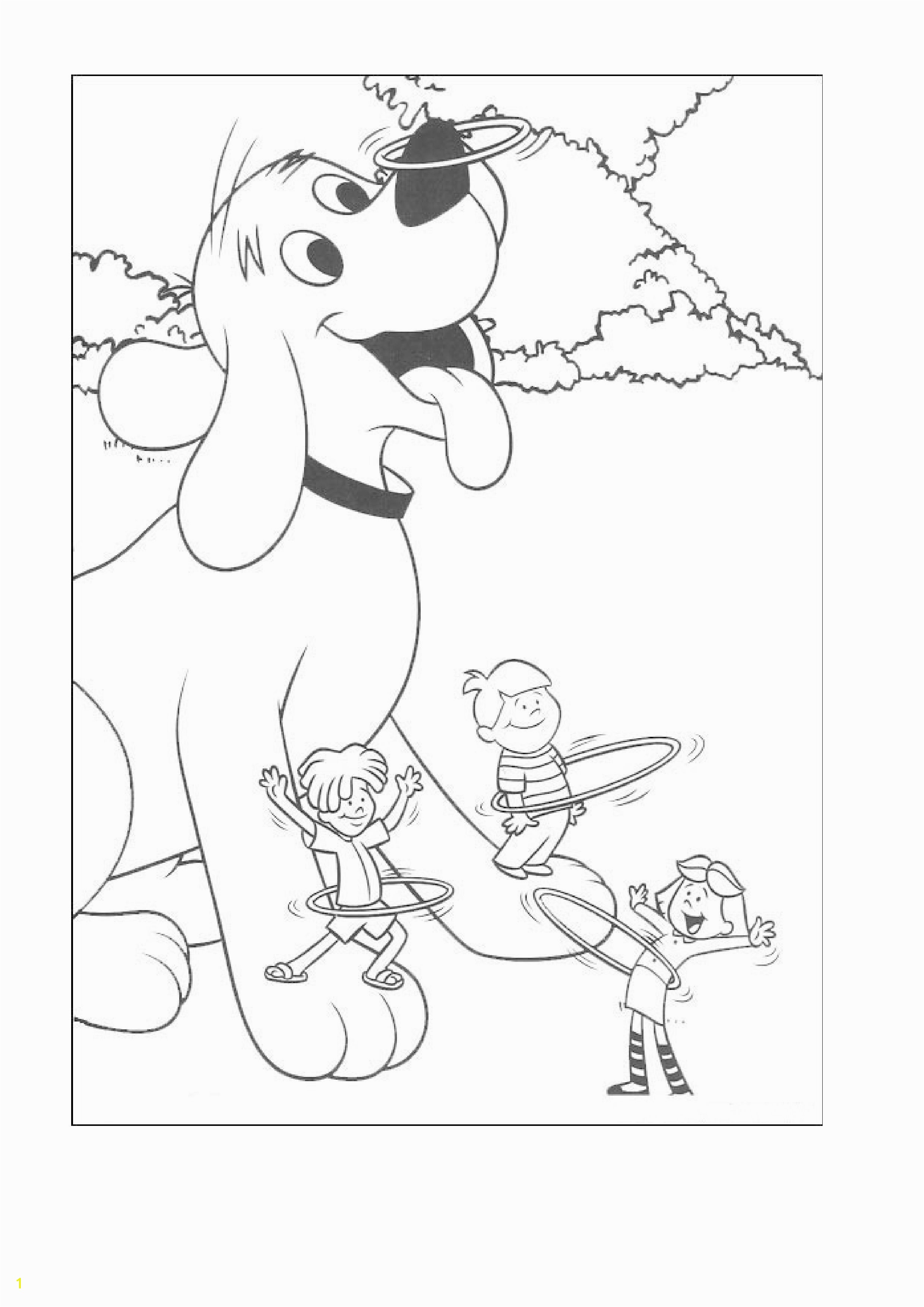 Baby Clifford Coloring Pages Coloring Pages Clifford the Big Red Dog to Like or Share