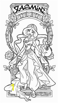Baby Princess Jasmine Coloring Pages 2511 Best Coloring Pages Images On Pinterest In 2018