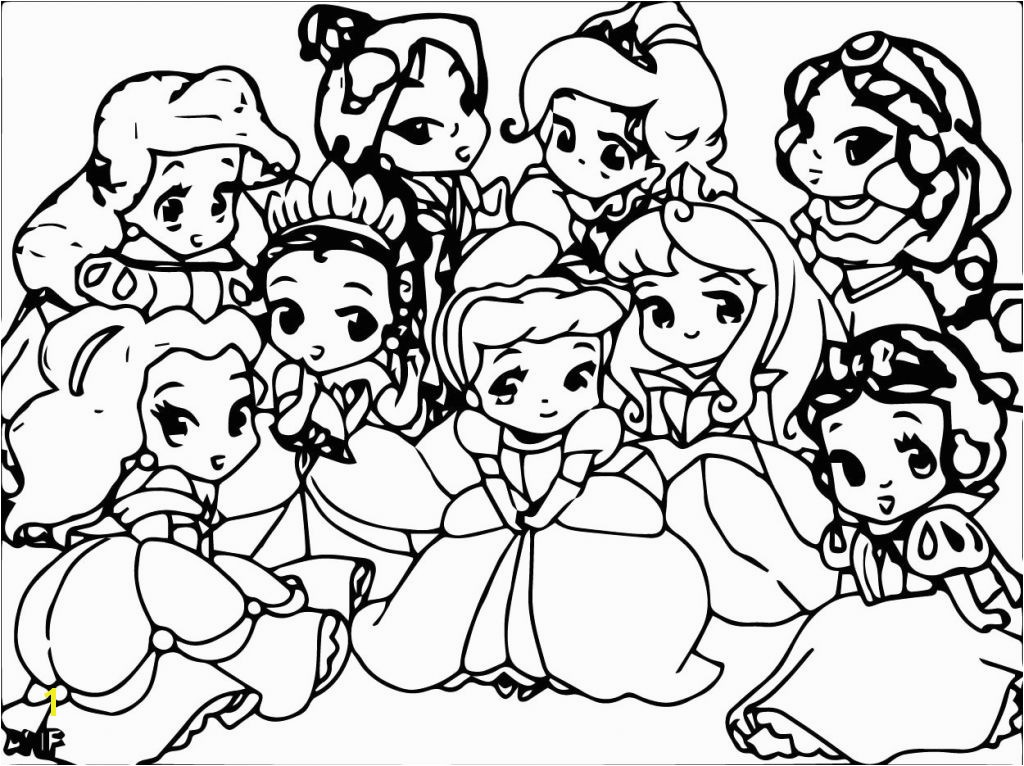 55 Natural Disney Princess Coloring Pages Baby Rapunzel Download