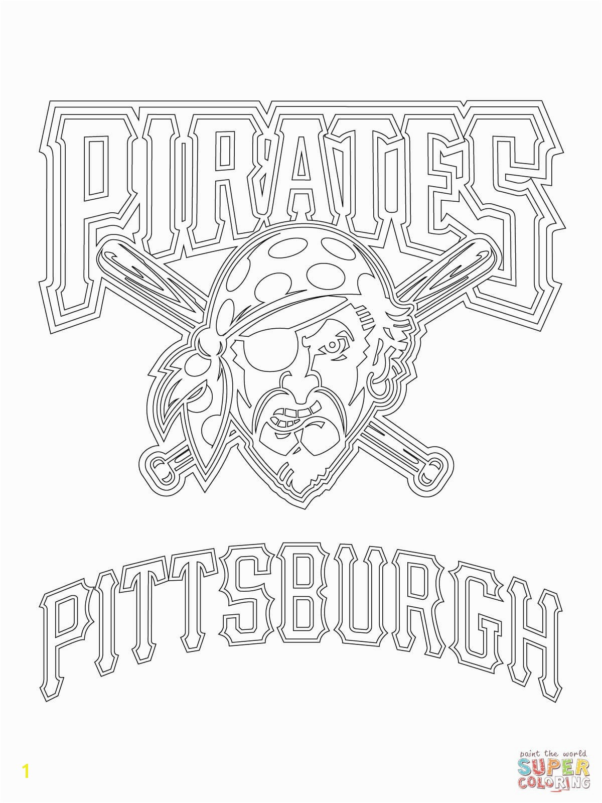 Baltimore orioles Baseball Coloring Pages Elegant Pittsburgh Pirates Logo Coloring Page for Cubs Pages Coloring