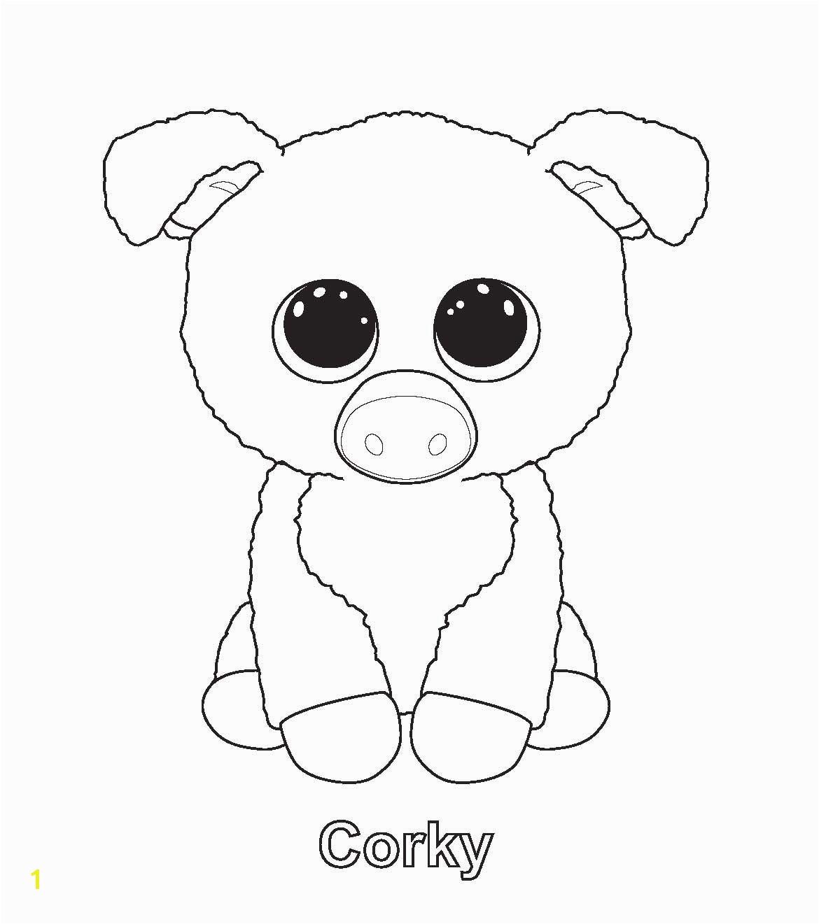Corky TY Beanie Boo