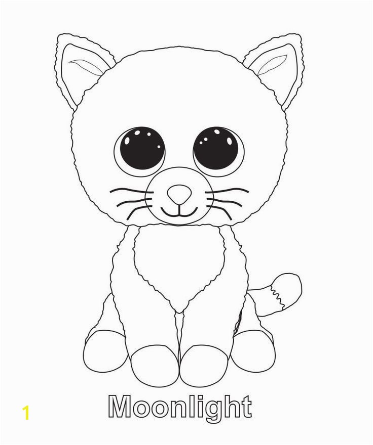 Beanie Boo Coloring Pages Only Ty Beanie Boo Coloring Pages and Print for Free