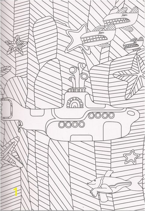 Beatles Yellow Submarine Coloring Pages Inspirational the Beatles Yellow Submarine Coloring Page Gallery