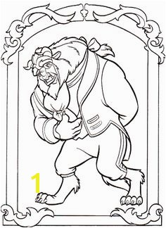 The Beast Coloring Pages Beauty And The Beast Coloring Pages KidsDrawing –