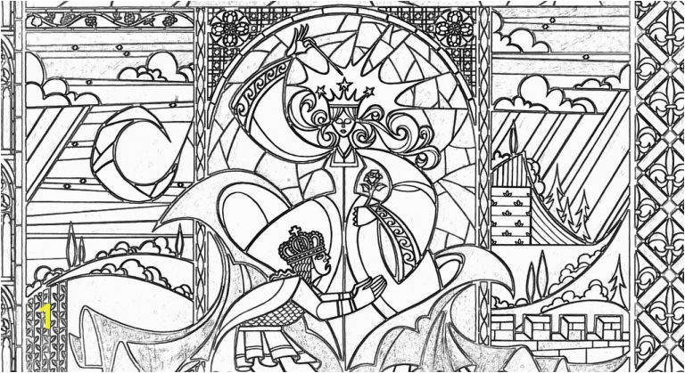 stained glass coloring pages for adults beauty and the beast stained glass window coloring page stained coloring pages for kids