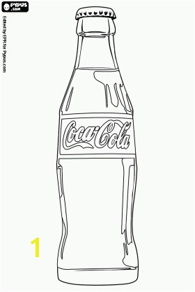 Beer Bottle Coloring Page Coca Cola Bottle Coloring Page Coca Cola Coloring Pages