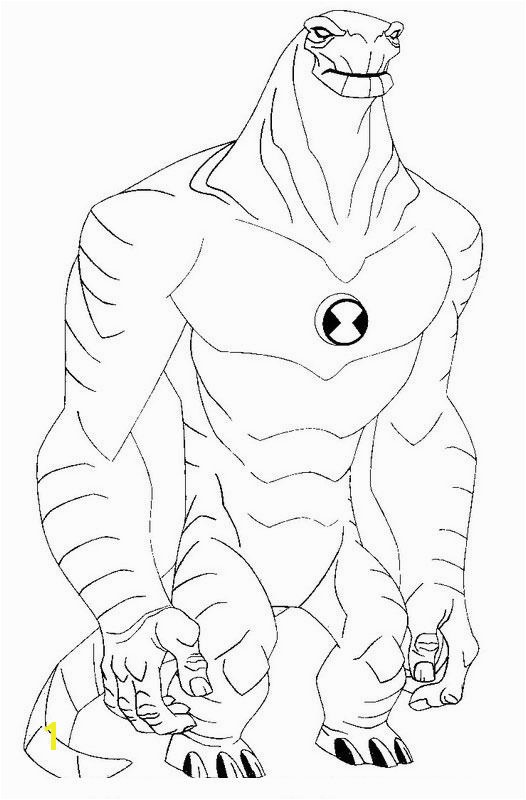 Ben 10 Alien Force Coloring Pages Fantasy Coloring Pages