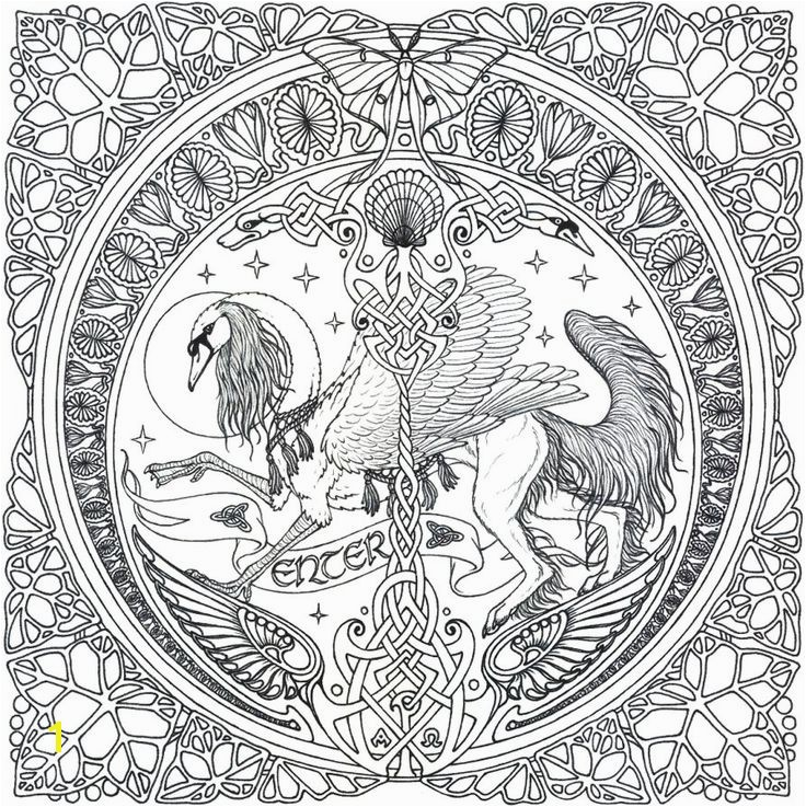 Printable Mandala Coloring Pages for Adults 1537 Best Coloring Pages for Adults Pinterest