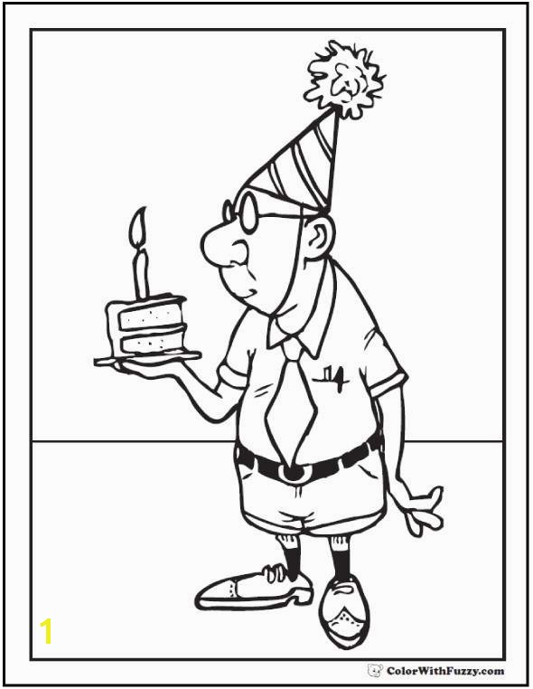 happy birthday coloring pages awesome leprechaun coloring pages i pinimg 736x 0d 0d ff free coloring