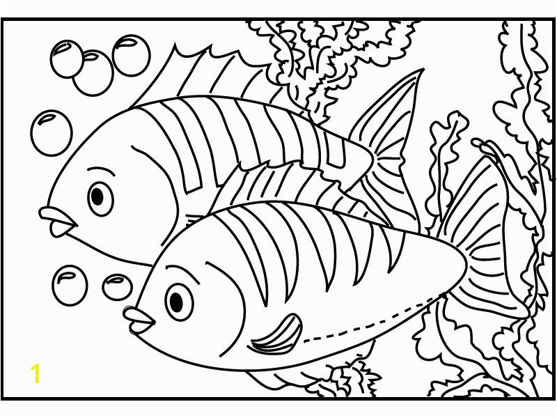 Betta Fish Coloring Pages Lovely Fish Coloring Pages for Adults Unique Printable Fish Coloring Pages