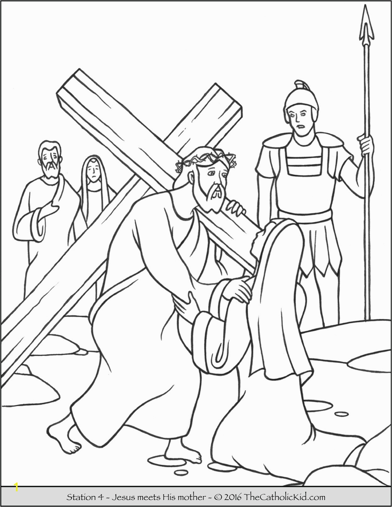 Jesus Resurrection Coloring Page Unique Stations the Cross Coloring Pages the Catholic Kid Jesus