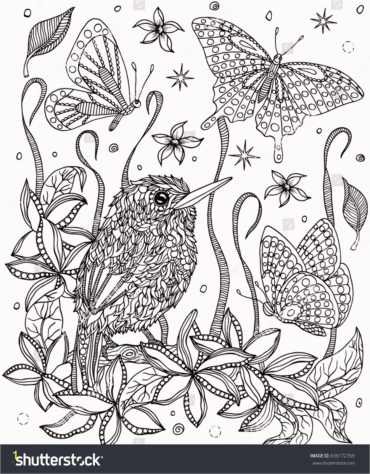 Bird Paradise Coloring Page Awesome Coloring Pages Birds and Flowers Unique Coloring Pages Birds and