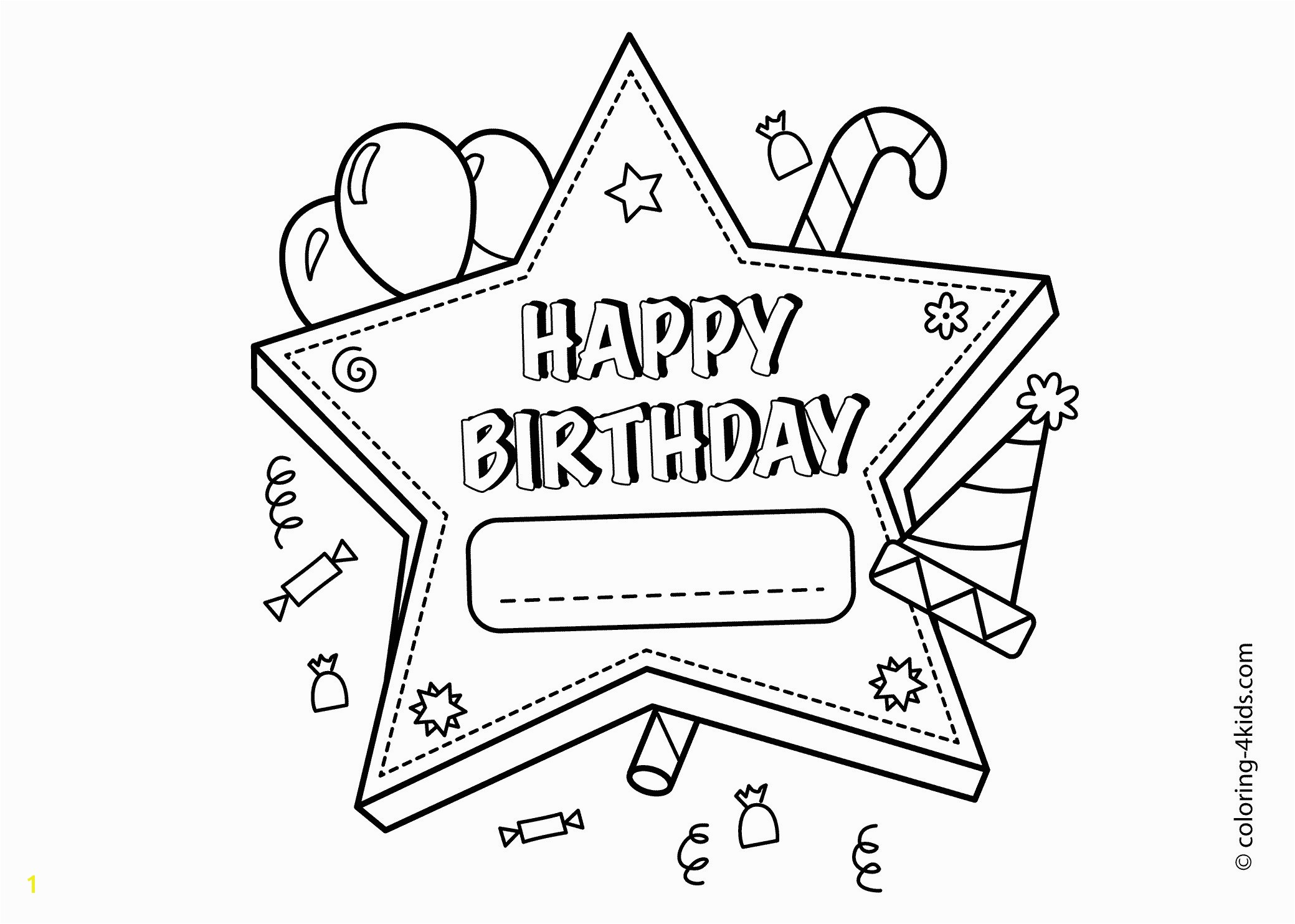 Birthday Coloring Pages for Aunts Adult Happy Birthday Coloring Pages Gallery 9 G 7
