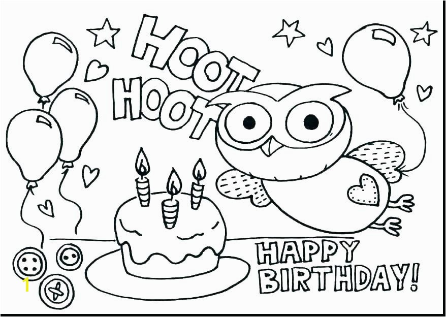 Happy Birthday Coloring Pages Happy Birthday Pages To Color Happy Birthday Coloring Pages To Print