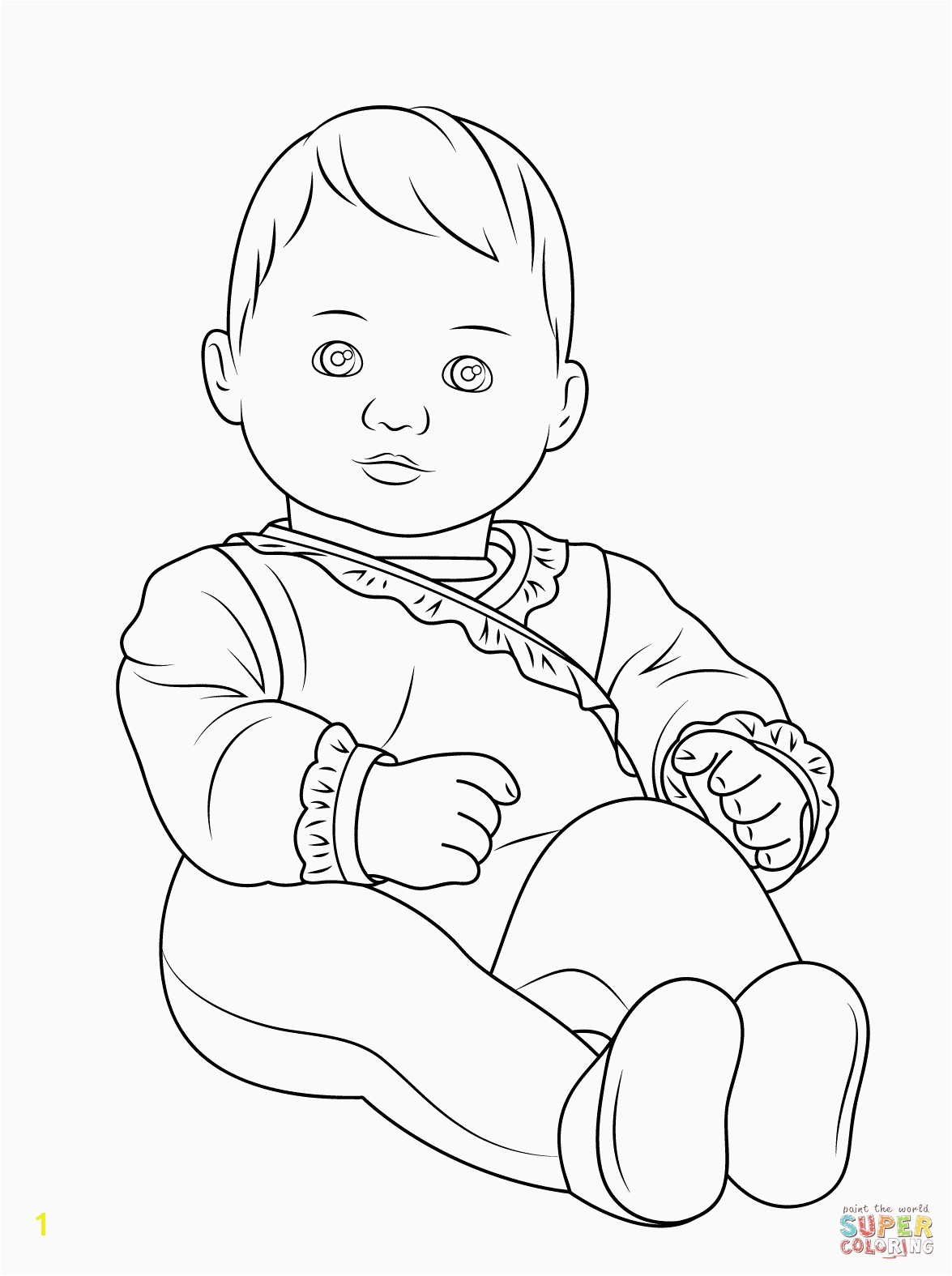 April Showers Coloring Pages Inspirational American Girl Bitty Baby Coloring Page